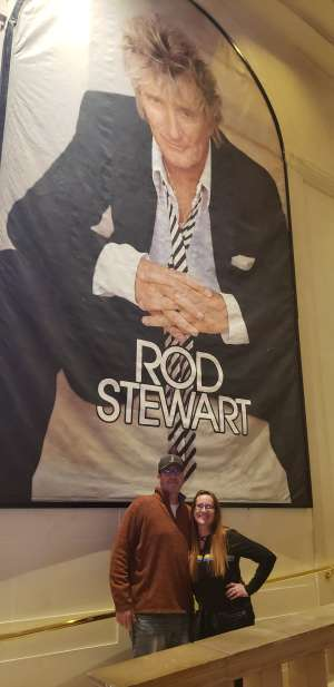 Doug and Amy attended Rod Stewart: the Hits. on Mar 7th 2020 via VetTix