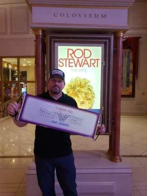 Rick P. attended Rod Stewart: the Hits. on Mar 7th 2020 via VetTix