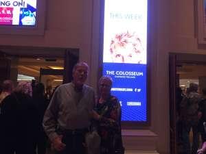 Lisa attended Rod Stewart: the Hits. on Mar 7th 2020 via VetTix
