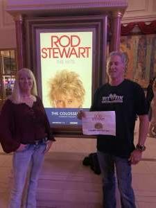 Dan attended Rod Stewart: the Hits. on Mar 7th 2020 via VetTix