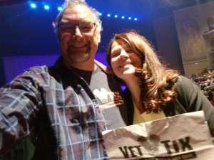 Vic attended Rod Stewart: the Hits. on Mar 7th 2020 via VetTix