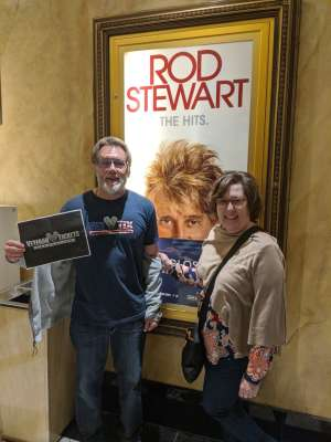 DENNY attended Rod Stewart: the Hits. on Mar 7th 2020 via VetTix