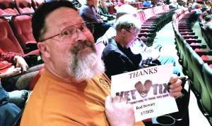 Mike attended Rod Stewart: the Hits. on Mar 7th 2020 via VetTix