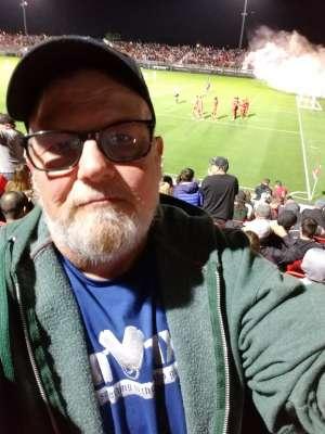 Paul attended Phoenix Rising FC vs. Portland Timbers 2 - USL on Mar 7th 2020 via VetTix