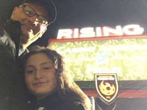 Gennaro attended Phoenix Rising FC vs. Portland Timbers 2 - USL on Mar 7th 2020 via VetTix