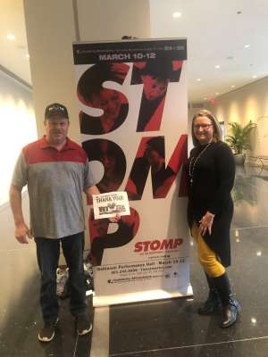 Click To Read More Feedback from STOMP