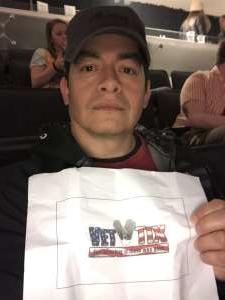 Jorge Aguilera attended The Lumineers - III the World Tour on Mar 11th 2020 via VetTix