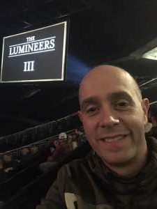 Collin attended The Lumineers - III the World Tour on Mar 11th 2020 via VetTix
