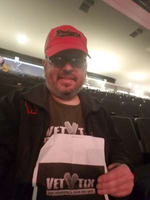 Brian attended The Lumineers - III the World Tour on Mar 11th 2020 via VetTix