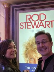 Andy attended Rod Stewart: the Hits. on Mar 11th 2020 via VetTix