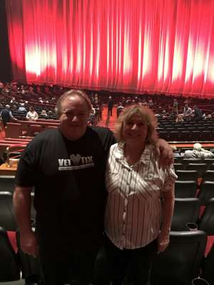 Jimbo attended Rod Stewart: the Hits. on Mar 11th 2020 via VetTix