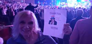 Ted Mowen Ret Navy  attended Rod Stewart: the Hits. on Mar 11th 2020 via VetTix
