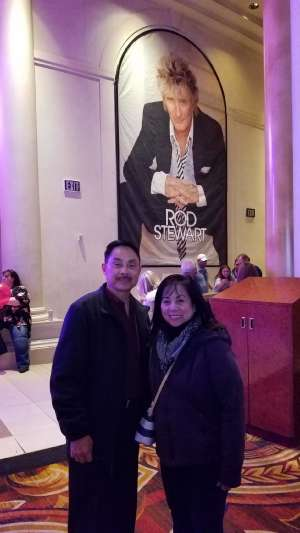 AMC attended Rod Stewart: the Hits. on Mar 11th 2020 via VetTix
