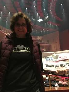 Kemmey  attended Rod Stewart: the Hits. on Mar 11th 2020 via VetTix