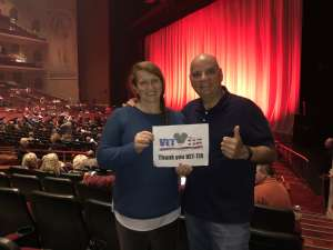 Mike attended Rod Stewart: the Hits. on Mar 11th 2020 via VetTix