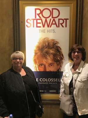 Nick attended Rod Stewart: the Hits. on Mar 11th 2020 via VetTix