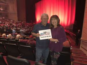Dennis attended Rod Stewart: the Hits. on Mar 11th 2020 via VetTix