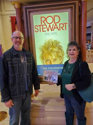 Ken attended Rod Stewart: the Hits. on Mar 11th 2020 via VetTix
