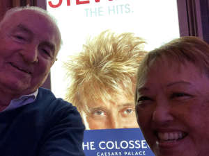 The Giver attended Rod Stewart: the Hits. on Mar 13th 2020 via VetTix