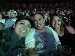 Melissa Vasquez attended Rod Stewart: the Hits. on Mar 13th 2020 via VetTix