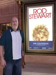 Dave attended Rod Stewart: the Hits. on Mar 13th 2020 via VetTix