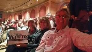 PC attended Rod Stewart: the Hits. on Mar 13th 2020 via VetTix