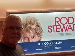 Eric attended Rod Stewart: the Hits. on Mar 13th 2020 via VetTix