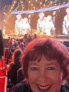 Char7 attended Rod Stewart: the Hits. on Mar 13th 2020 via VetTix