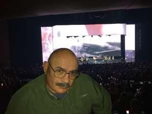 Rei attended Rod Stewart: the Hits. on Mar 13th 2020 via VetTix