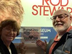 Ray McC attended Rod Stewart: the Hits. on Mar 13th 2020 via VetTix