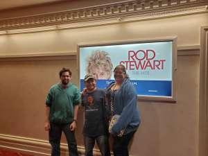 John attended Rod Stewart: the Hits. on Mar 13th 2020 via VetTix
