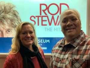 Alex attended Rod Stewart: the Hits. on Mar 14th 2020 via VetTix