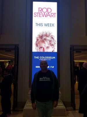 Shaun attended Rod Stewart: the Hits. on Mar 14th 2020 via VetTix