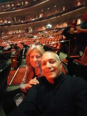 Fedor attended Rod Stewart: the Hits. on Mar 14th 2020 via VetTix