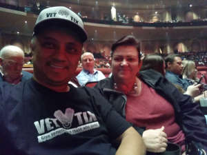 Gil & Theresa attended Rod Stewart: the Hits. on Mar 14th 2020 via VetTix