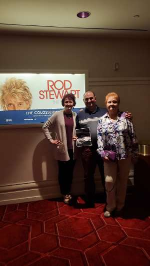 Tony Verrengia  attended Rod Stewart: the Hits. on Mar 14th 2020 via VetTix
