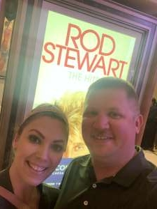 Robert Monohan attended Rod Stewart: the Hits. on Mar 14th 2020 via VetTix