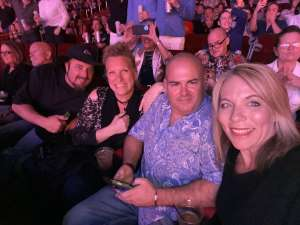 Ares attended Rod Stewart: the Hits. on Mar 14th 2020 via VetTix