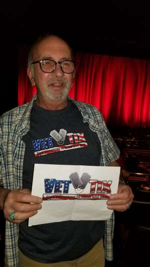 Michael attended Rod Stewart: the Hits. on Mar 14th 2020 via VetTix
