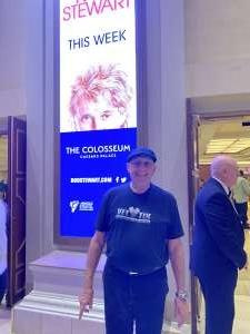 Chris Oelerich attended Rod Stewart: the Hits. on Mar 14th 2020 via VetTix