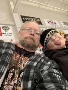 Larry Mclellan attended Bismarck Bobcats vs. St. Cloud Blizzard - NAHL on Mar 17th 2020 via VetTix