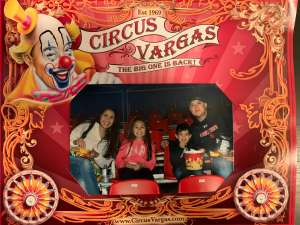 Mike  attended Circus Vargas on Mar 13th 2020 via VetTix