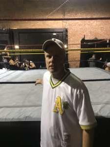 Mark Moran attended Future Stars of Wrestling: Mecca VI on Mar 15th 2020 via VetTix