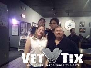 Fred attended Side Splitters Comedy Club on Mar 13th 2020 via VetTix