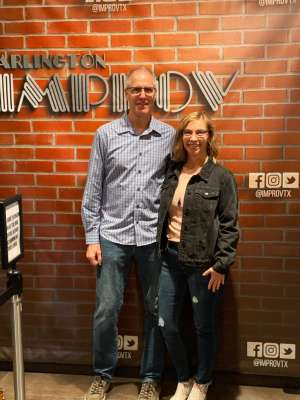 John and Allison Horn attended Arlington Improv on Mar 14th 2020 via VetTix