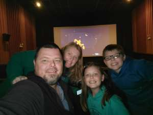 Langston family attended Military Mondays @ The Movies on Mar 16th 2020 via VetTix