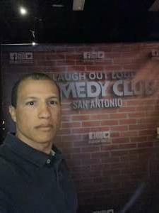 Frankie attended LOL Comedy Club on May 15th 2020 via VetTix
