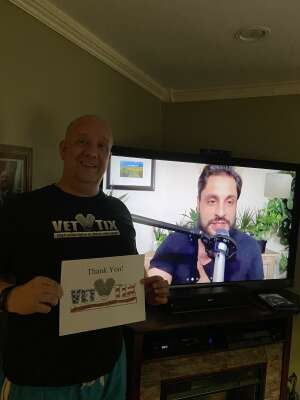 Norm  attended Comedy's Best Kept Secret Tour 2020 - VIRTUAL COMEDY SHOW on Jun 5th 2020 via VetTix