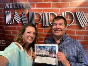 Steven & Heidi attended Addison Improv on May 16th 2020 via VetTix
