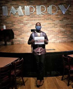 C.T. Green attended Houston Improv on May 16th 2020 via VetTix